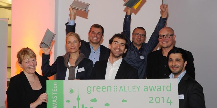 Green Alley Award Gewinner 2014