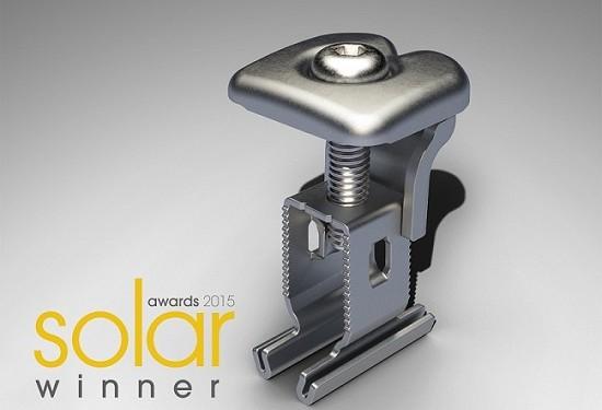 RS1 von Renusol mit Solar Industry Award 2015 ausgezeichnet