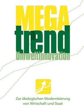 Buchcover Megatrend Umweltinnovation