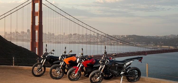 Elektrische Bikes von Zero Foto: Zero Motorcycles