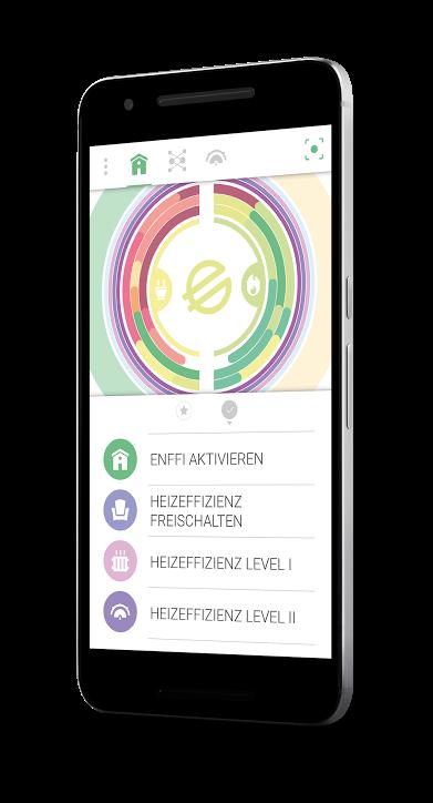 """Smartphone-App """"enffi"""" zeigt Energieverbräuche auf und regt zu Verhaltensänderungen an"""