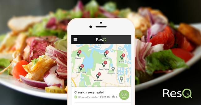 Finalist Green Alley Award 2016: Start-up ResQ entwickelt App für Speisereste