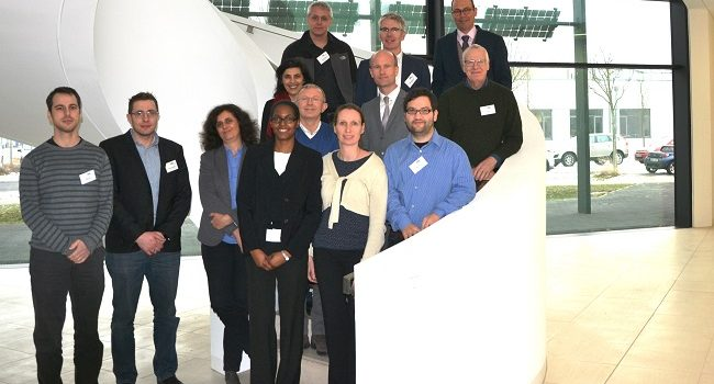 Auftakt PECSYS F&E Projekt zur Erzeugung von Wasserstoff aus Solarkraft