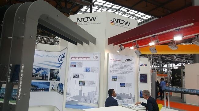 Neue Ära, Wasser- und Brennstoffzelltechnologie - grüne Lösungen auf der Hannover Messe 2017