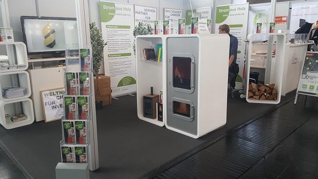 Grüne Lösungen auf der Hannover Messe 2017: Strom aus Holz