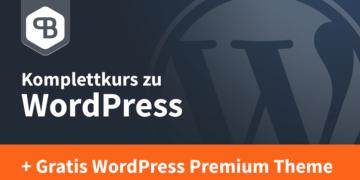 Online-Kurs WordPress von Pascal Bajorat