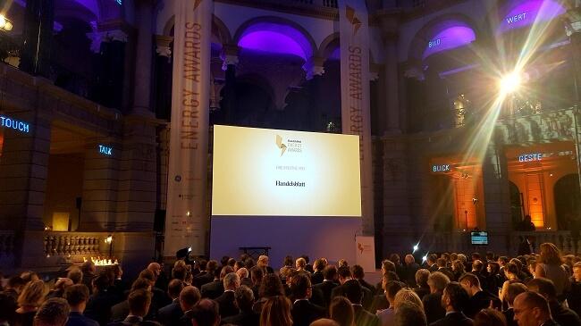 Scheinwerfer an für die Energy Awards 2017
