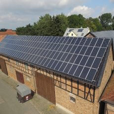 Solardach in Semmstedt - Crowdinvesting Foto: GreenXmoney