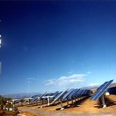 Solares Turmkraftwerk in Almería