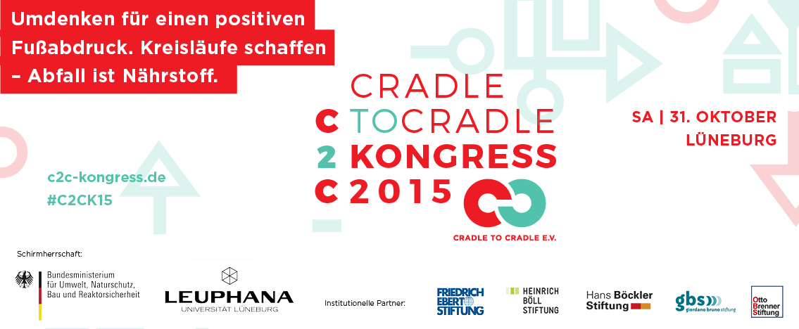 Banner Cradle to Cradle Kongress 2015