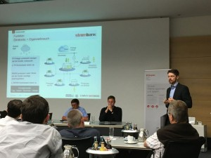 """Präsentation des Projekts """"Strombank"""" im Rahmen der SmartGrids BW #bloggertour von Dr. Robert Thomann, Projektleiter"""