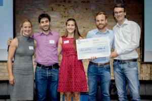 2. Platz für Pendula bei der Cleantech Venture Competition, Foto: Climate-KIC/S.Röhl
