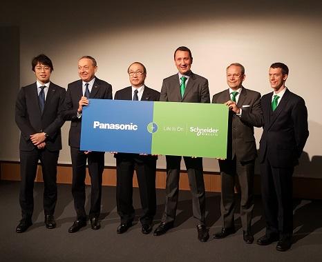 Chillventa 2016: offizielle Bekanntmachung der Partnerschaft von Panasonic und Schneider Electric