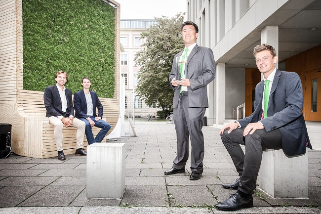 Finalist Green Alley Award 2016: Start-up Green City Solutions vertreibt City Tree für saubere Luft in Städten