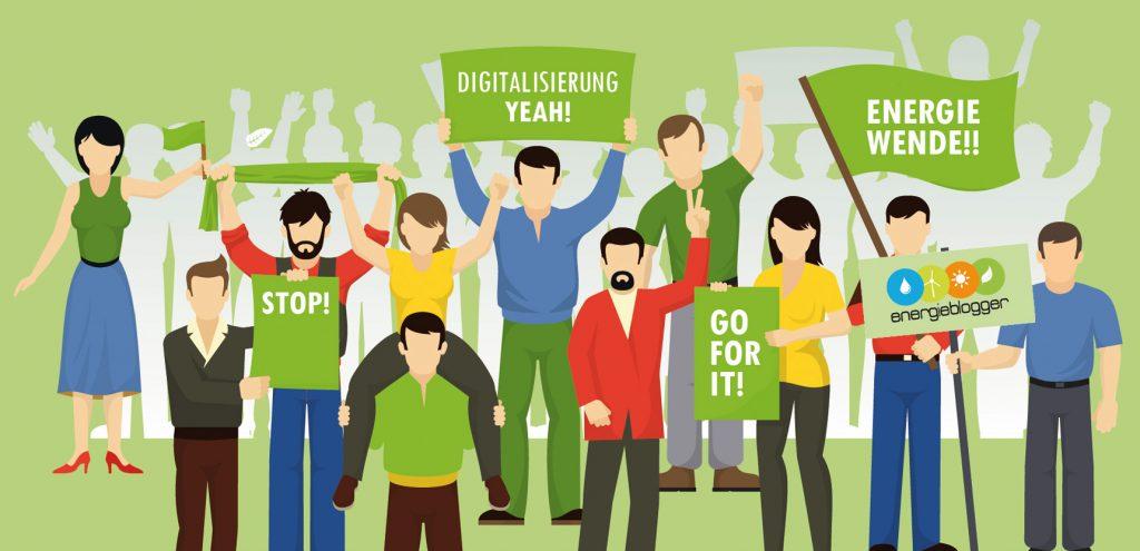 Digitalisierung der Energiewende - Blogparade SMA SUNNY Blog #digiEwende