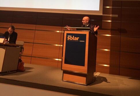 Intersolar München 2017 Stefan Grosjean, CEO smappee über Potenziale der Blockchain Technologie