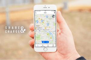 Share&Charge App zur Förderung der Elektromobilität