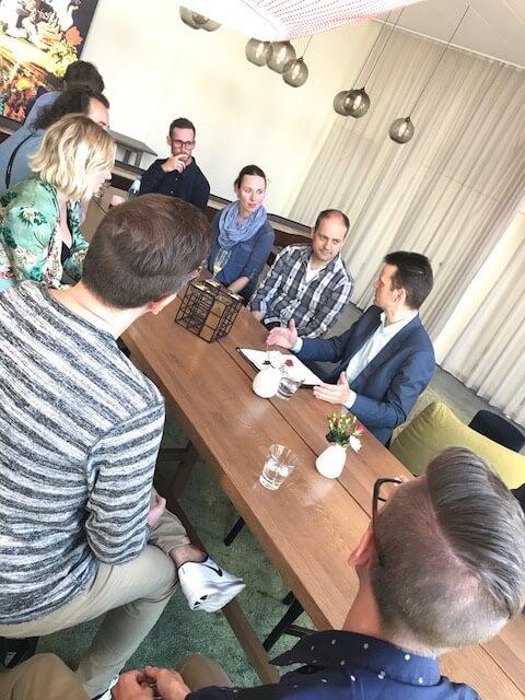 Blogger aus ganz Deutschland sprechen mit E.ON Vorstand Dr. Leonhard Birnbaum zum Thema SmartCity - Hyllie als Role-Model