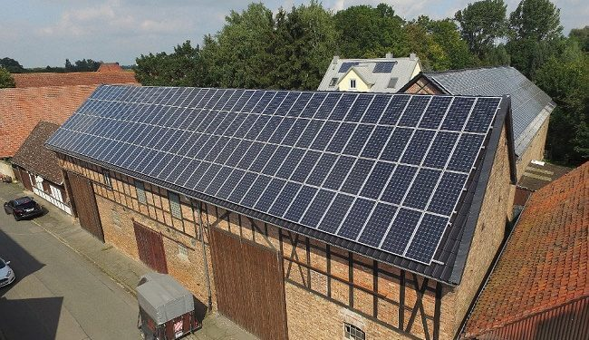 Solardach in Semmstedt - Crowdinvesting Foto: GreenXmoney