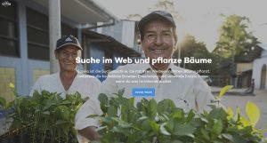 creenshoot Website Ecosia