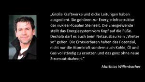 Matthias Willenbacher Zitat
