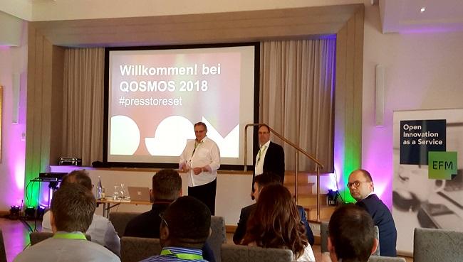Begrüßung der Gäste durch Quantum Geschäftsführer Dirk Hardt und Andreas Benz