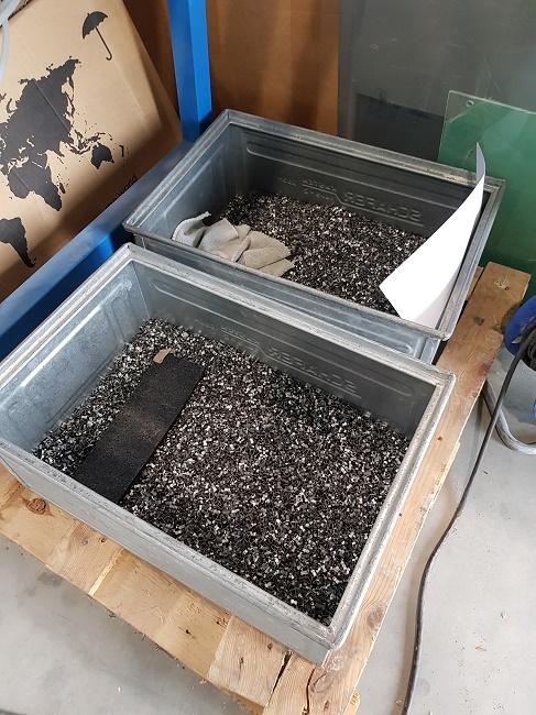 Metalle und Kunststoffe jeglicher Art, Form und Größe können via Trockenentfettung gereinigt werden