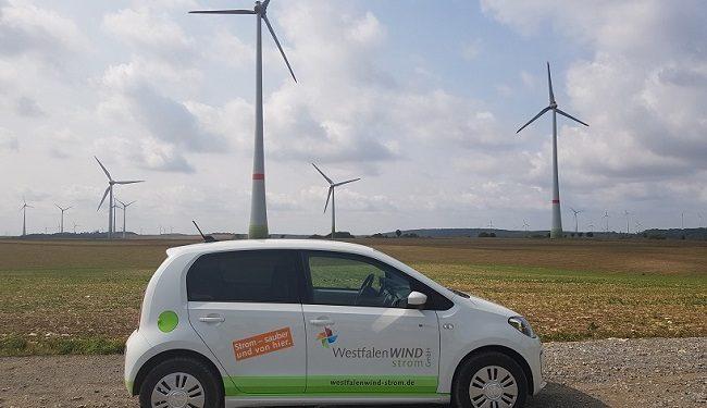 Besichtigung des Pilot-Projekts WindCORES der WestfalenWind GmbH in NRW im Rahmen einer Pressefahrt Foto: Katja Reisswig, Technewable.com
