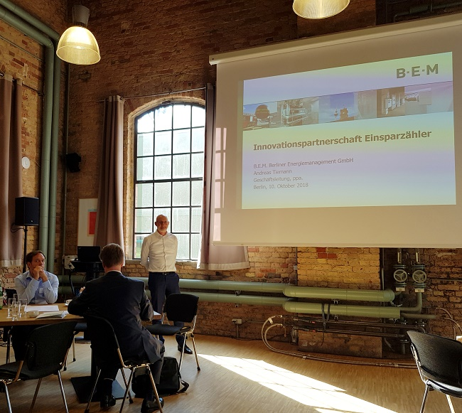 B.E.M sucht nach langfristigen Kooperationspartnern zur Nutzung digitaler Technologien im Bereich Wärme, Strom