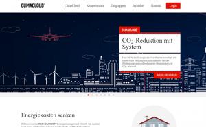 Screenshot Red Kilowatt GmbH - ClimaCloud