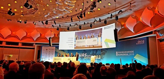 Energiewende Kongress der Deutschen EnergieAgentur dena -#denakongress Foto: KR - Technewable.com