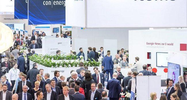 Impression von der E-world energy & water 2018 Die E-world ist Europas führende Fachmesse der Energiewirtschaft.