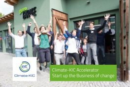 Klima-innovativ durchstarten – im Climate-KIC Accelerator