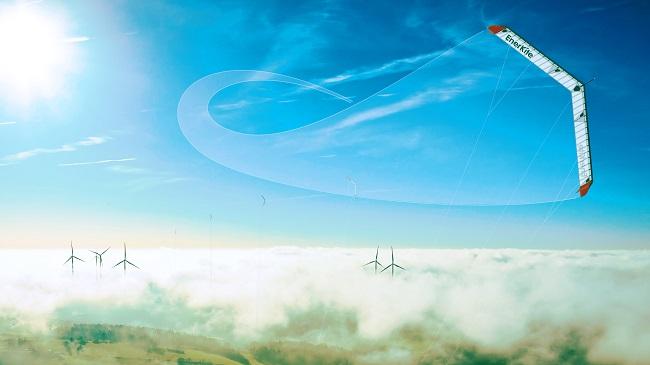Verwirklichte EnerKite Vision - Flugwindkraftanlagen ernten Strom