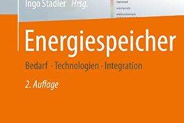 Buchtipp: Energiespeicher – Bedarf, Technologien, Integration