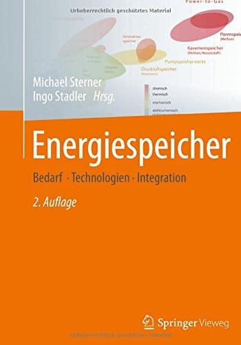 You are currently viewing Buchtipp: Energiespeicher – Bedarf, Technologien, Integration