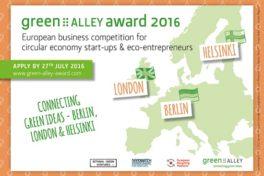 Das sind die Finalisten des 3. Green Alley Award 2016