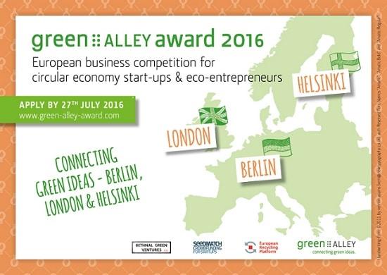 You are currently viewing Das sind die Finalisten des 3. Green Alley Award 2016