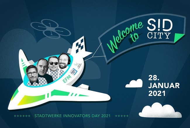 You are currently viewing Der Event-Tipp! // #SID2021 – Stadtwerke Innovators Day 2021 – Remote Edition
